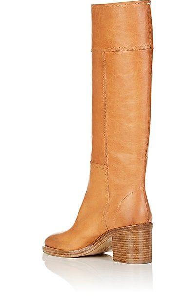 cheap get authentic Maison Margiela Denim Knee-High Boots cheapest price sale online outlet store cheap price deals online clearance perfect CejwJQ