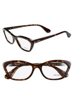 optical glasses online  Alternate Image 1 Selected - Prada 54mm Cat Eye Optical Glasses ...