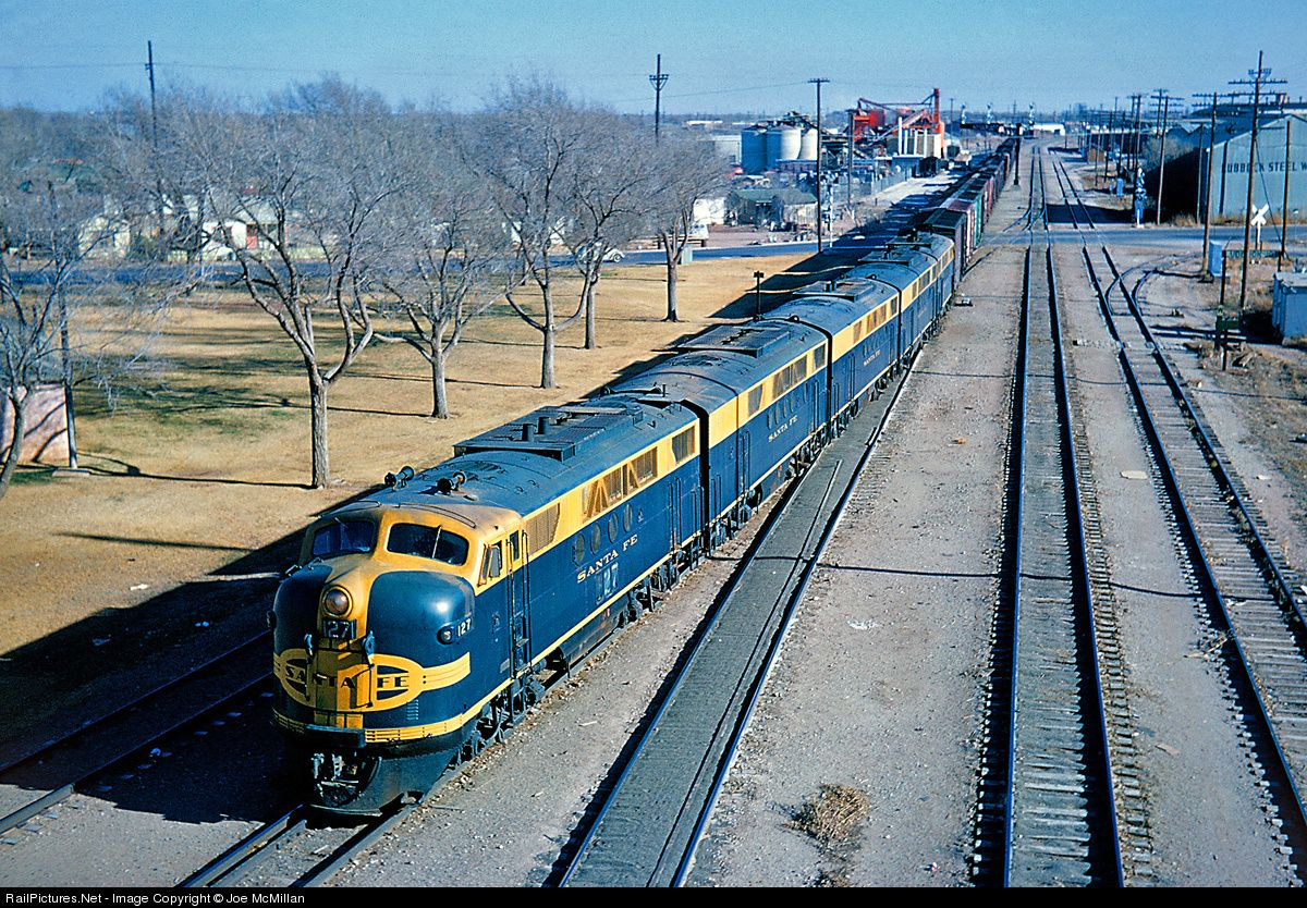 RailPicturesNet Photo ATSF L Atchison Topeka Santa Fe - Atchinson topeka and santa ferailroad on the us map