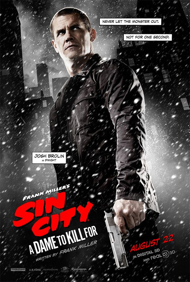 Dwight en un nuevo cartel de Sin City: A Dame to Kill For