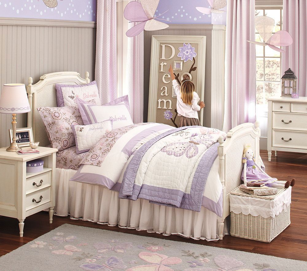 Pottery Barn Kids Bedroom Design Darcy Caned Collection