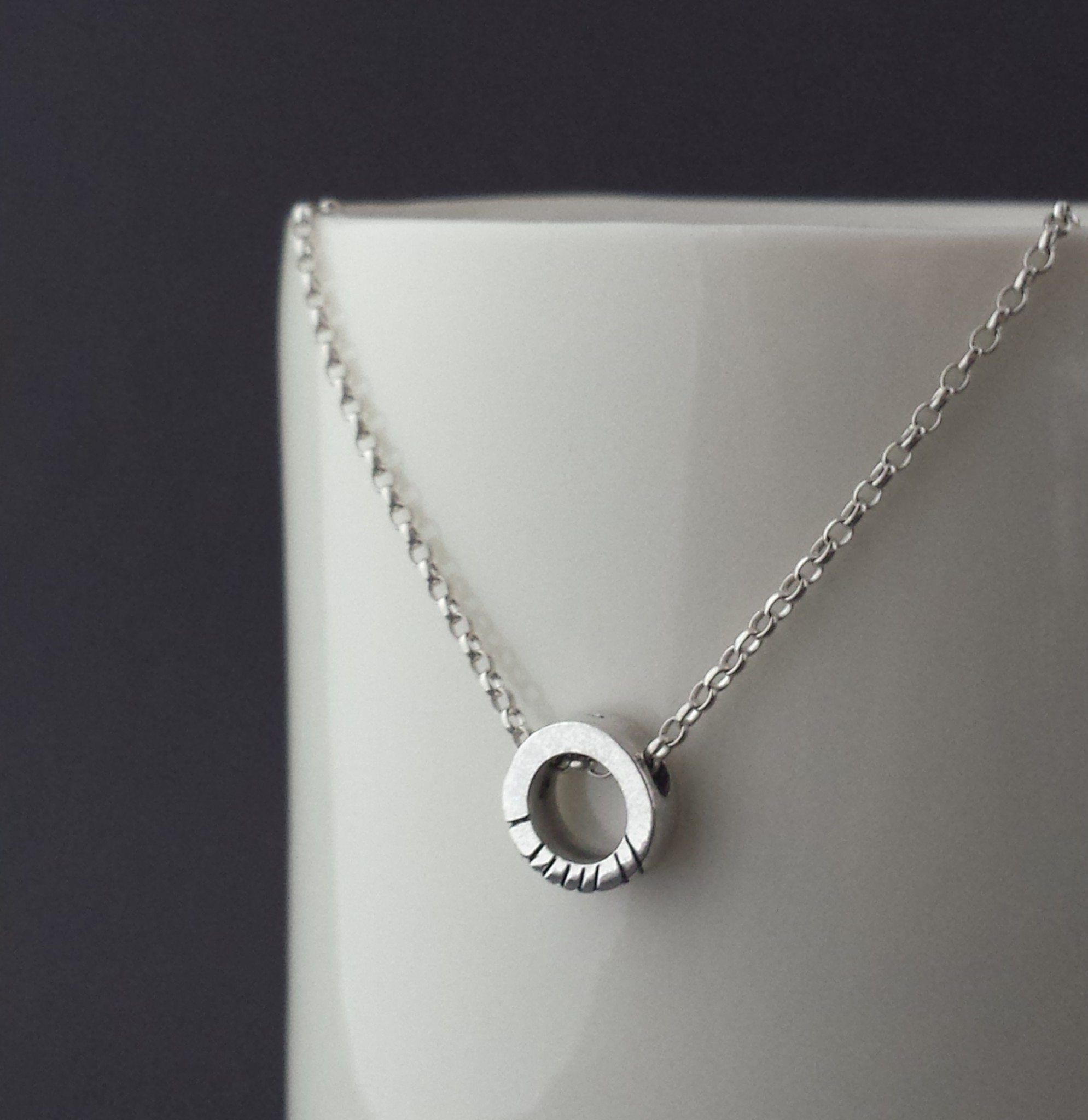 Personalized ogham pendant ogham pinterest made by hand in our irish silversmith workshop personalize your message on an ogham pendant sterling silver ogham pendant is inspired by the oldest form of aloadofball Images