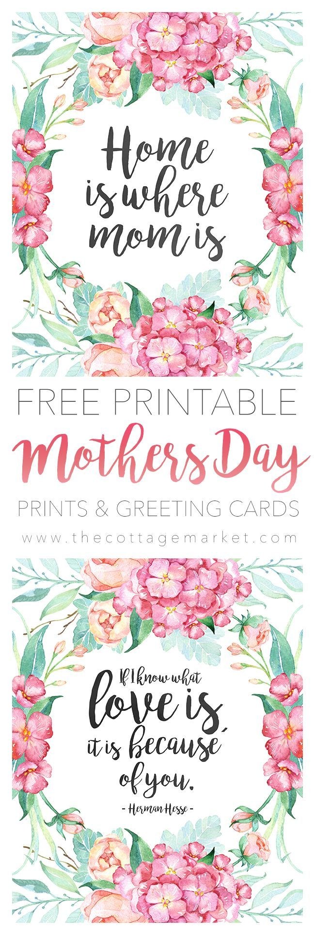 Free printable mothers day prints and greeting cards mothers day free printable mothers day prints and greeting cards kristyandbryce Gallery