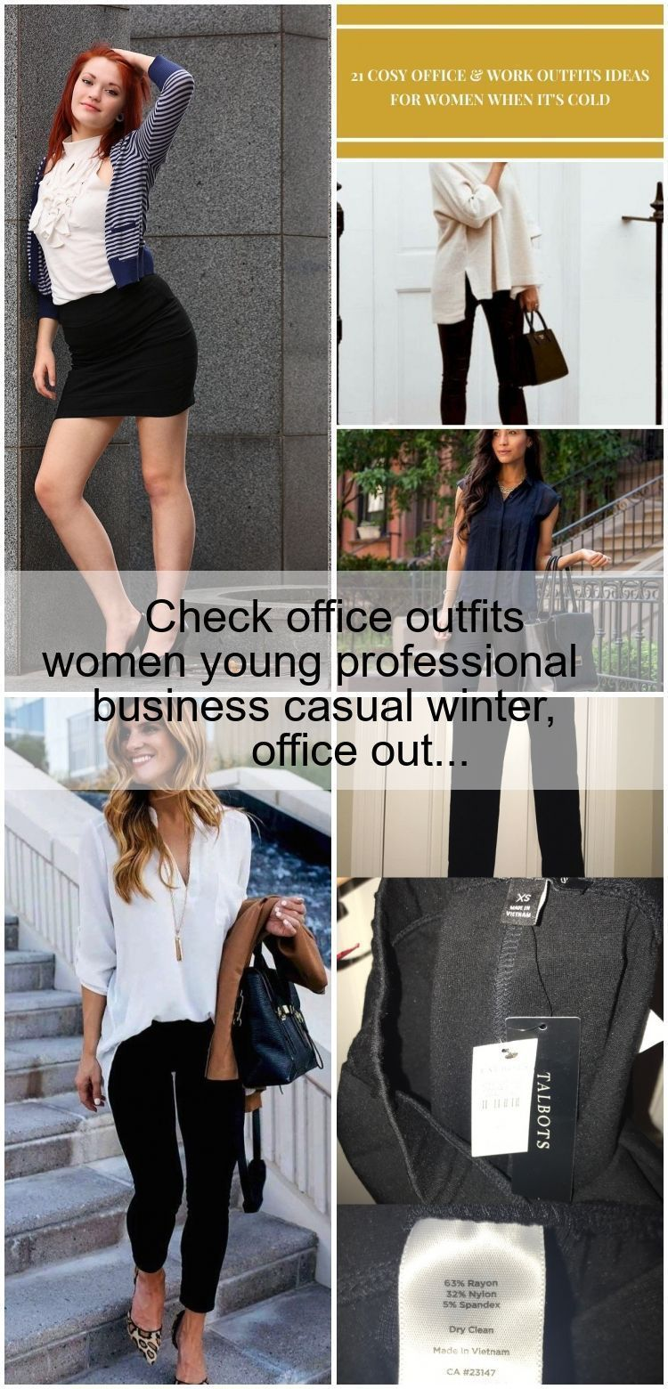Check office outfits women young professional business casual winter, office out... , #busin...