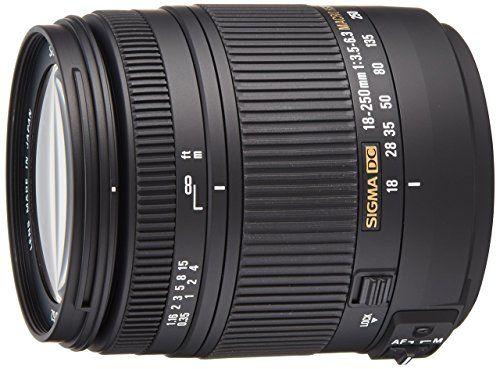 Sigma 18 250mm F3 5 6 3 Dc Macro Hsm For Pentax Digital S Https Www Amazon Com Dp B008b489rs R Canon Digital Slr Camera Nikon Slr Camera Nikon Digital Slr