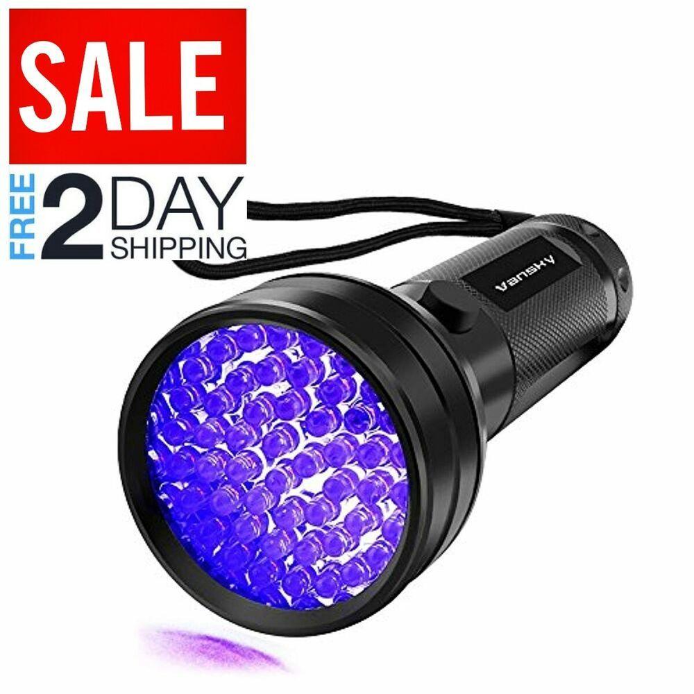 Uv Flashlight Black Light Uv Lights Vansky 51 Led Ultraviolet