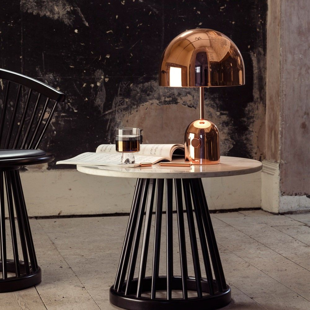 Tom Dixon Bell Table Light Copper Home Accessories Table Lamps Living Room Table Lamp