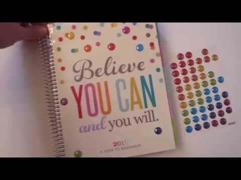 Dollar Tree Puffy Stickers On Erin Condren Planner Cover - http://www.carryhaulwell.com/2015/06/dollar-tree-puffy-stickers-on-erin-condren-planner-cover/ - cover, decorate, dollar tree, erin condren, fun, planner, stickers, style