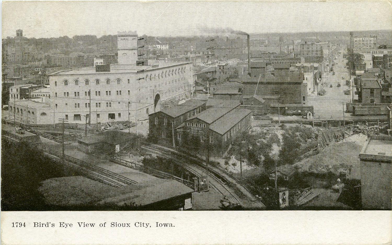 Bird S Eye View Of Sioux City Iowa Sioux City Sioux City Iowa Iowa