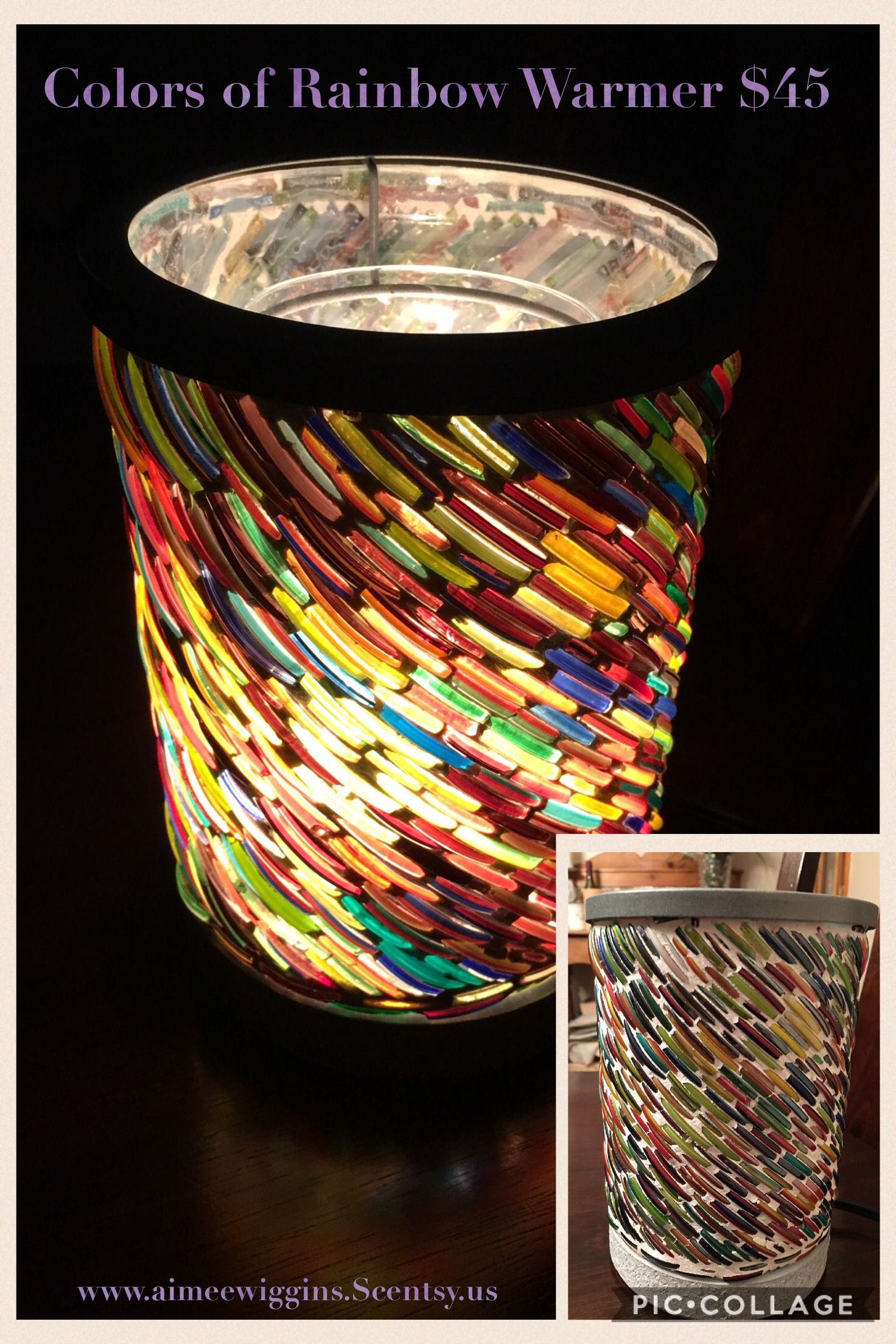 Scentsy Us Colors Of Rainbow Warmer Is Made From Recycled Bracelets India