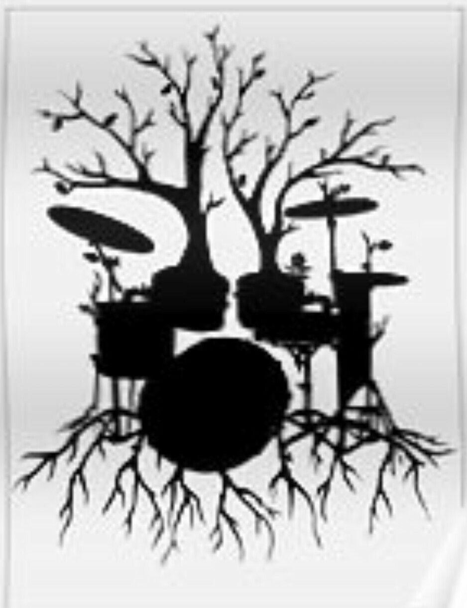 Drum set tree tattoo idea #fordaddy … | Pinterest