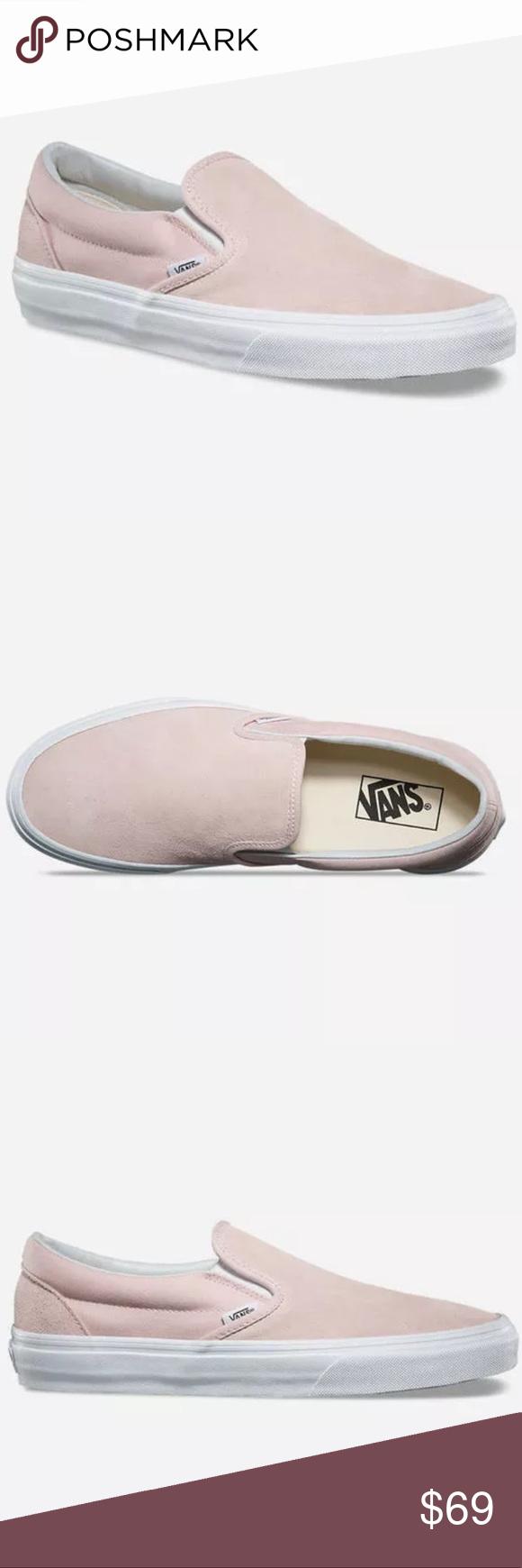 light pink suede vans