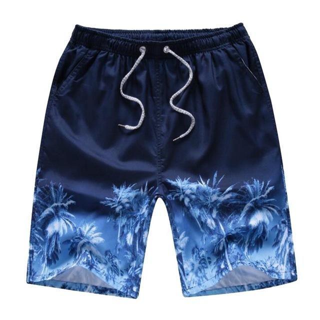 Men's Clothing Summer Brand Men Elastic Waist Beach Bathing Boxer Quick Dry Mens Plaid Board Shorts Plus Size Male Casual Breathable Short