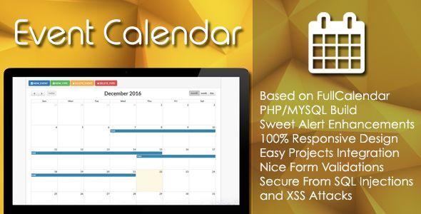 Event Calendar  PhpMysql Plugin  HttpsCodeholderNetItem