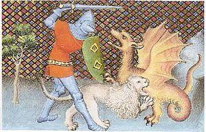 Yvain Ou Le Chevalier Au Lion Wikipedia Francese