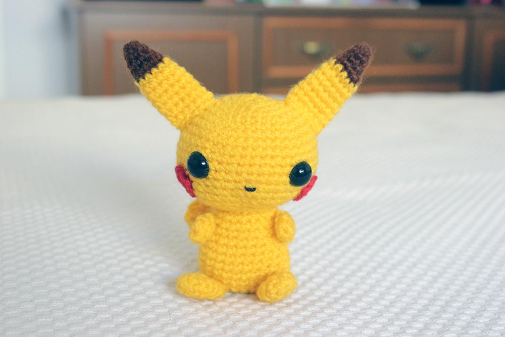 Pikachu Amigurumi - Patrón Gratis en Español aquí: http://www ...