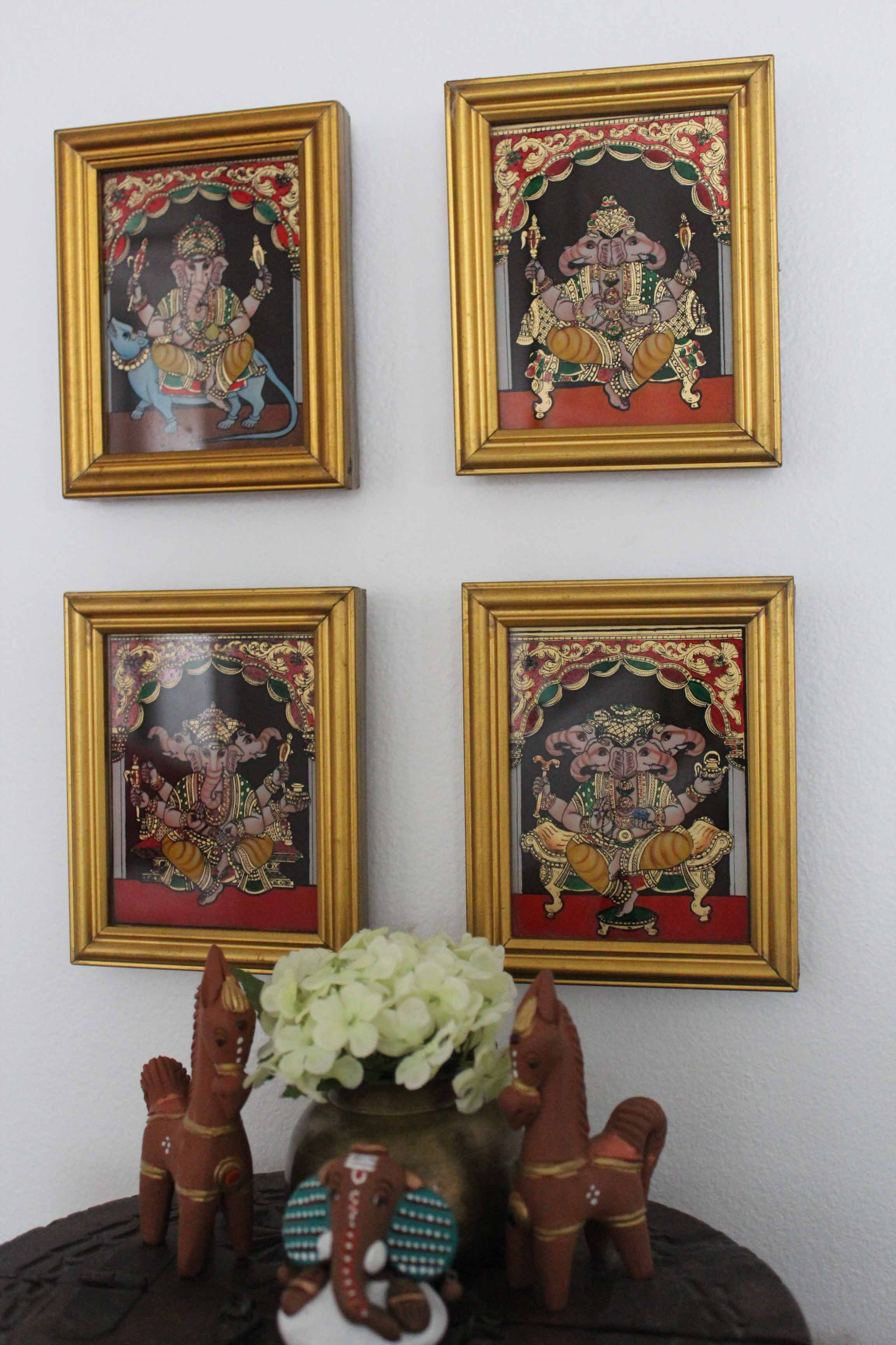 Do You Like Mixing Two Crafts How About Tanjore Gl