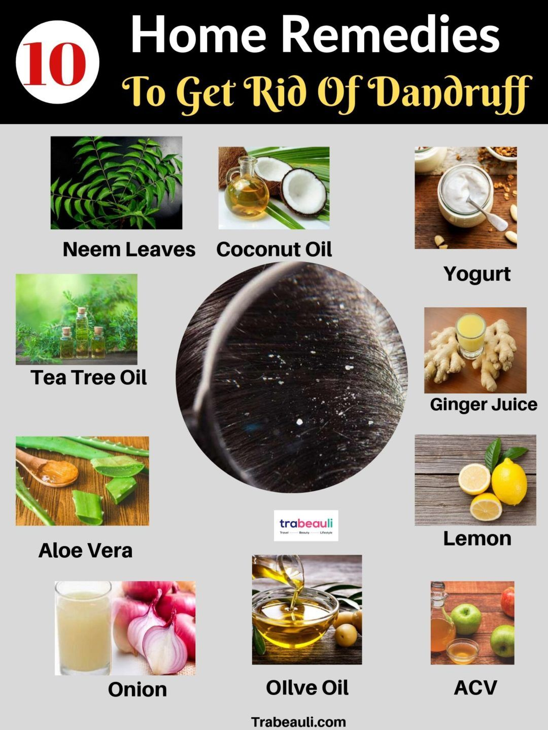 Get Rid Of Dandruff Fast With Home Remedies Treatment Trabeauli Dandruff Remedy Getting Rid Of Dandruff How To Cure Dandruff