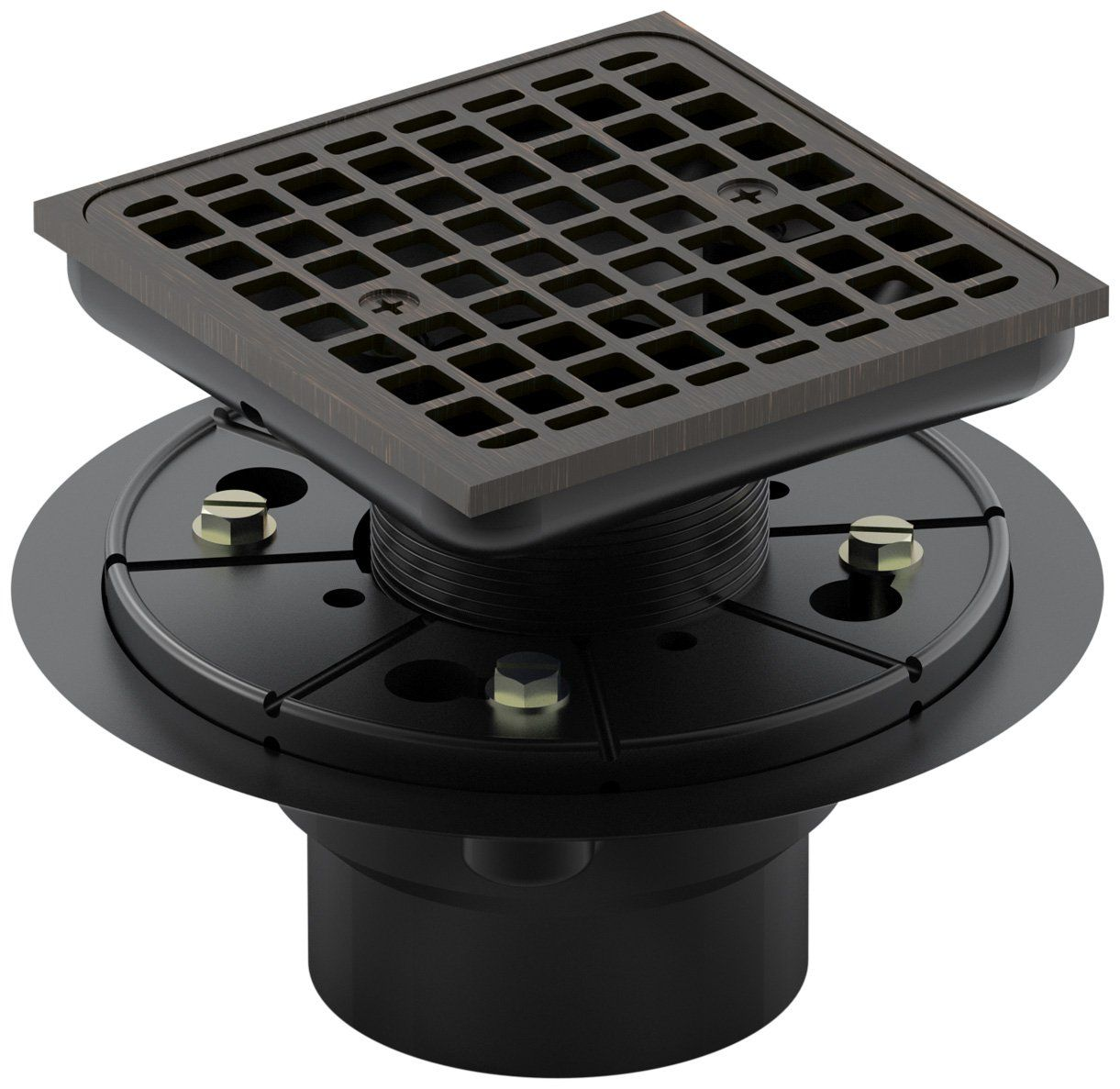Kohler K-9136-2BZ Tile-In Square Shower Drain, Oil Rubbed Bronze - Shower Installation Kits - $73.41 Amazon.com