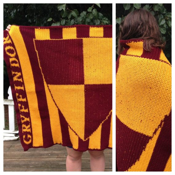 Harry Potter Fair Isle Knitting: Gryffindor Pillow by ...