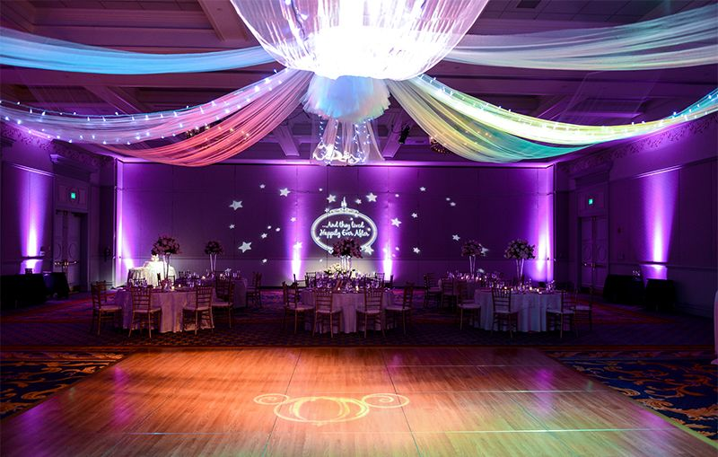 Happily ever after inspired wedding reception at Walt ...