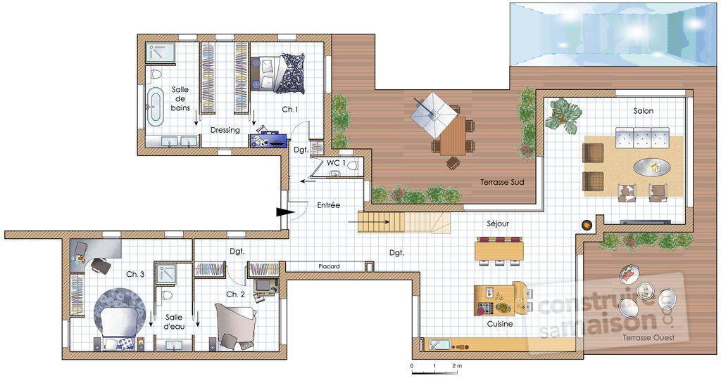 Une maison chaleureuse et écologique As