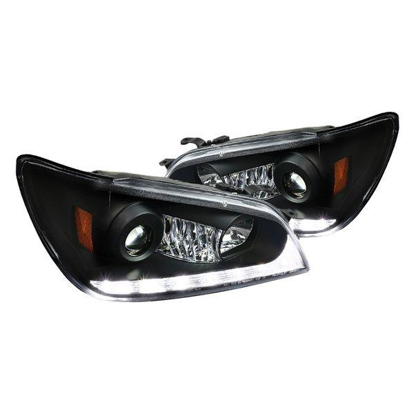 Junyan 01 05 Lexus Is 300 Projector Black W Led Dtrl Headlights Lexus Lexus Is300 Headlights