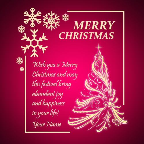 Are You Looking For Merry Christmas Tree Greeting Card