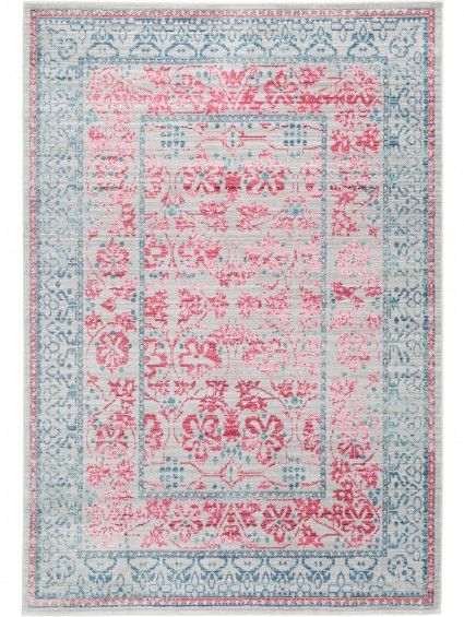 Visconti Rug Grey/Pink 200x300 cm | Living room | Pinterest | Room ...