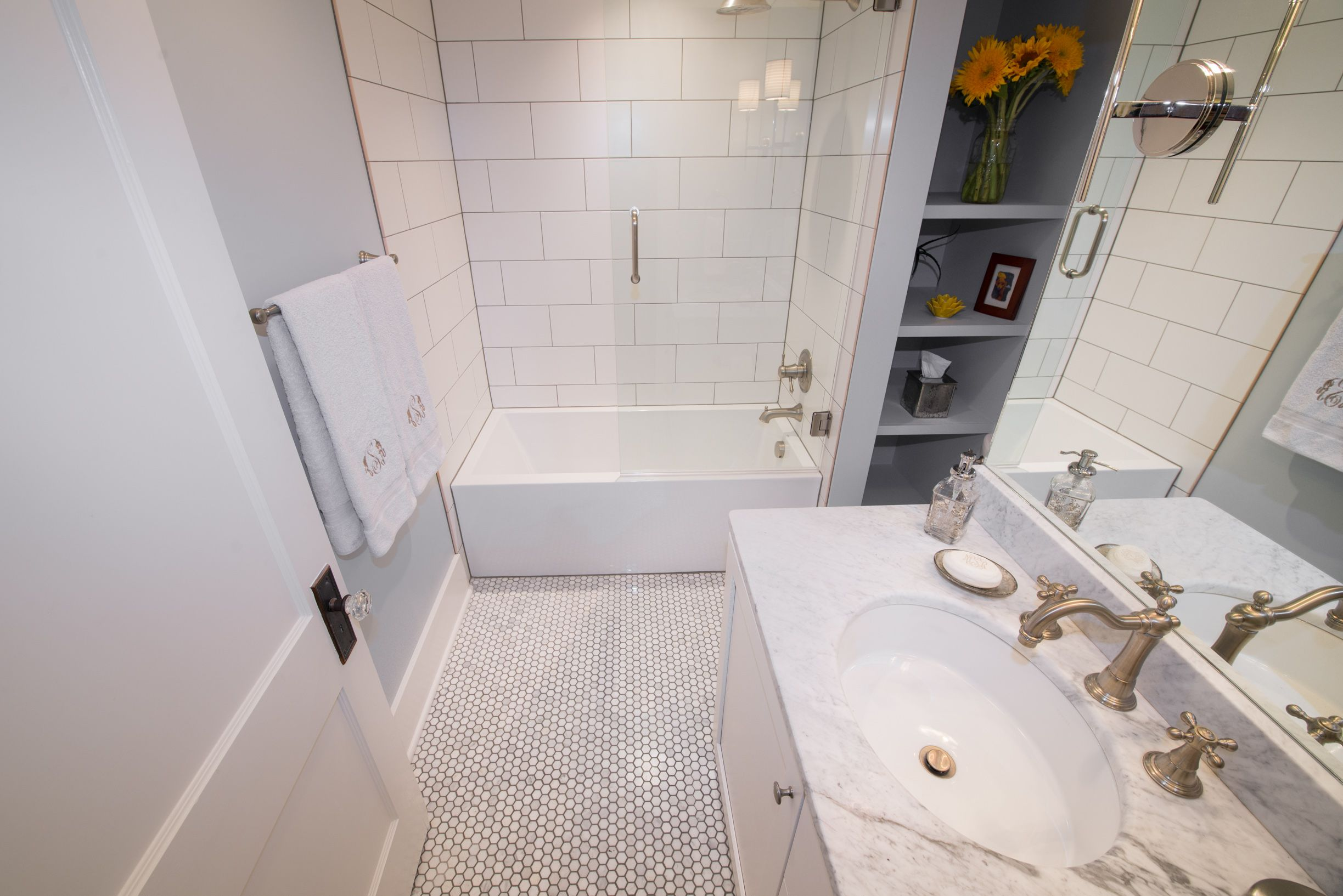 Small Bathroom Remodel Fort Collins | Pinterest | Classic white ...