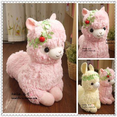 Arpakasso Alpacasso Alpaca Plush stuffed pastoral toy doll forest spirit 50cm