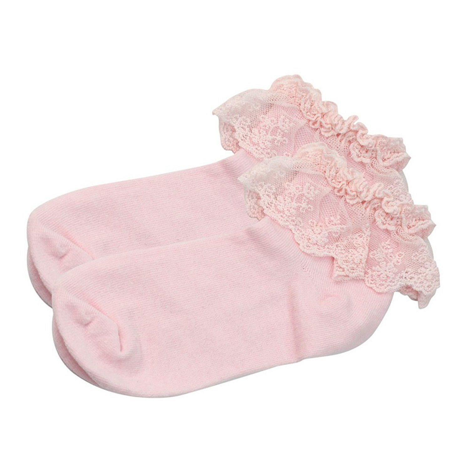 Vintage Cotton Lace Ruffle Frilly Ankle Socks Fashion La s Princes