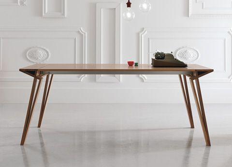 Alivar Oblique Extending Dining Table   Super Sleek U0026 Brand New For 2014  From Top Designer