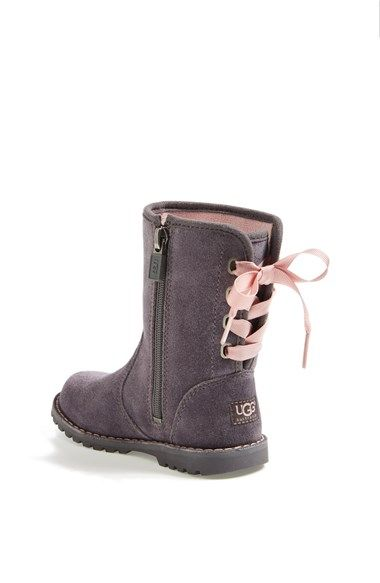 Ugg Boots with Lace-up Bow for Walker & Toddler Girls -- Nordstrom Anniversary Sale Favorites @Nordstrom #nordstrom #nordstromanniversarysale #fashion ...