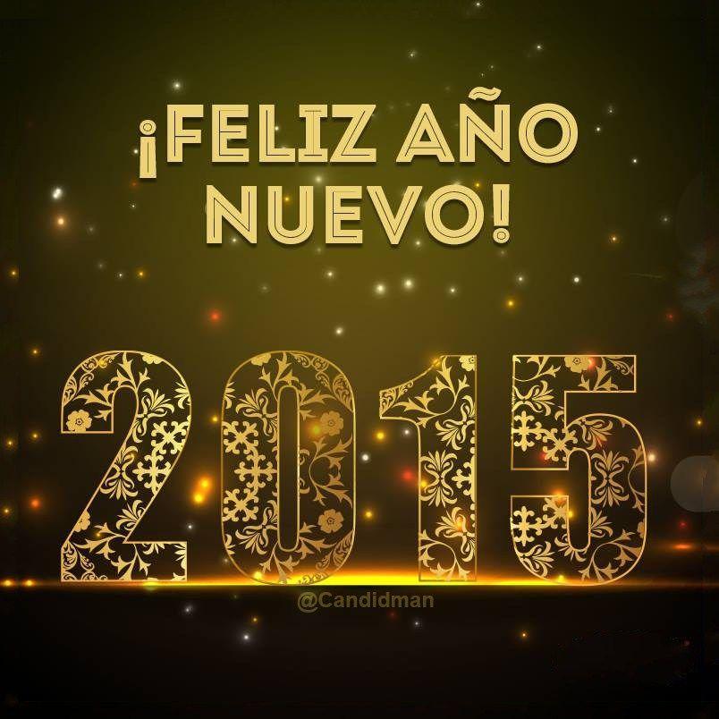¡Feliz Año Nuevo! 2015 candidman Frases Navidad