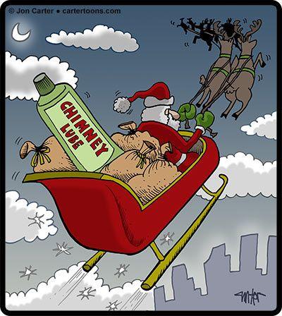 Chimney lube for Santa