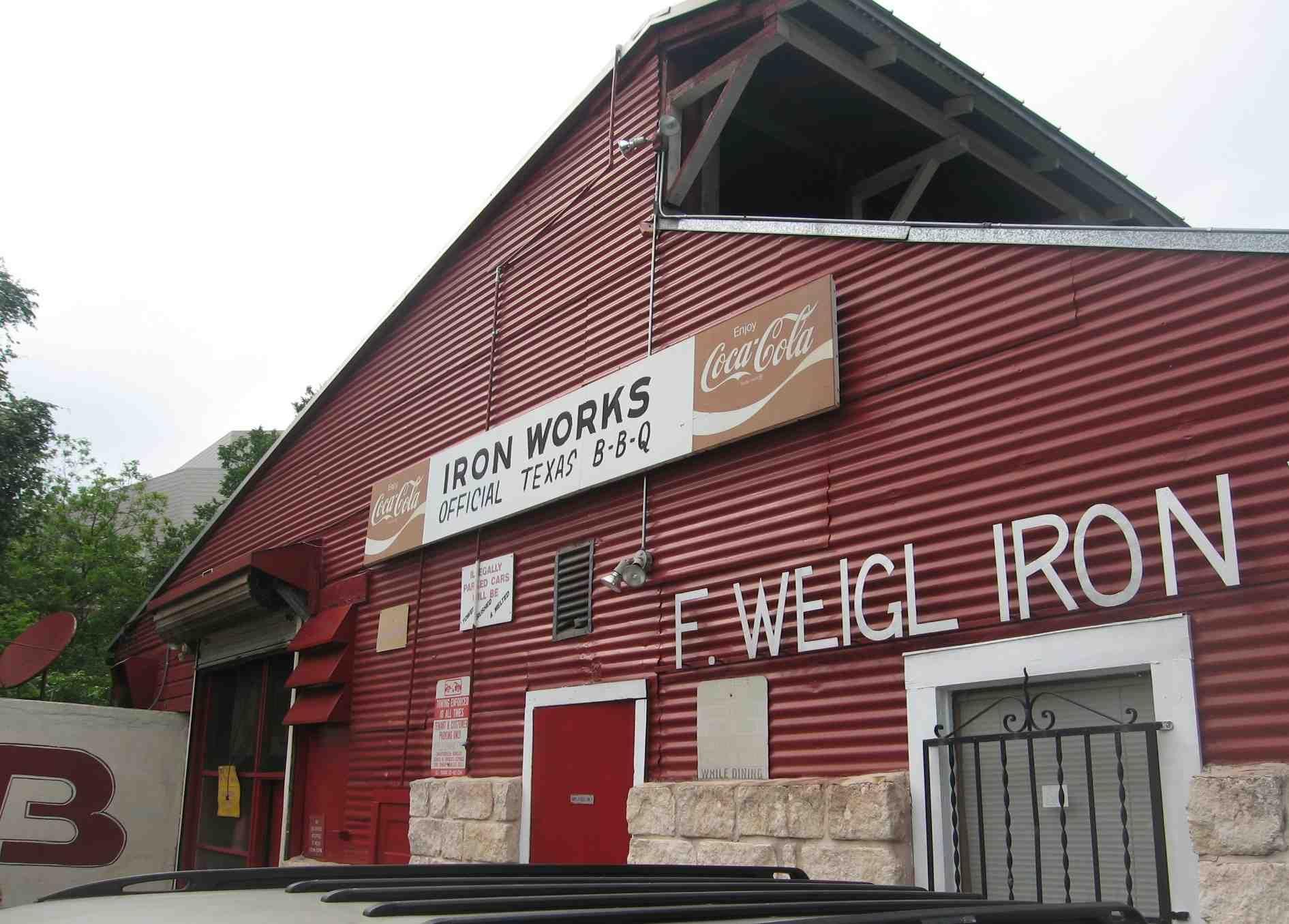 Nice BBQ (Iron Works Barbecue, Austin TX)