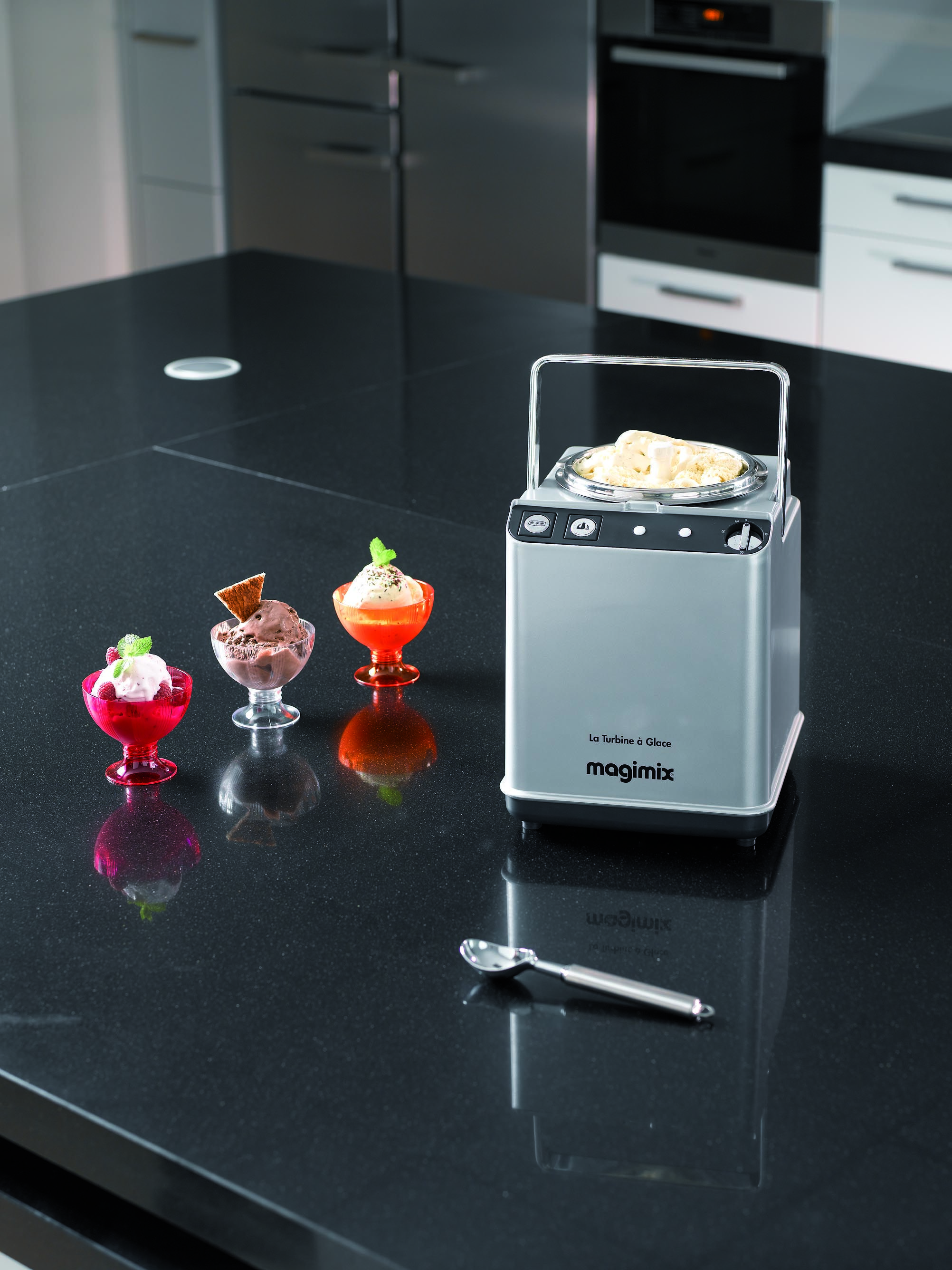 Eis, die leckerste Erfrischung, wenn sie auch noch selbst gemacht ist.