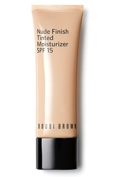 Bobbi Brown 'Nude Finish' Tinted Moisturizer SPF 15 available at #Nordstrom