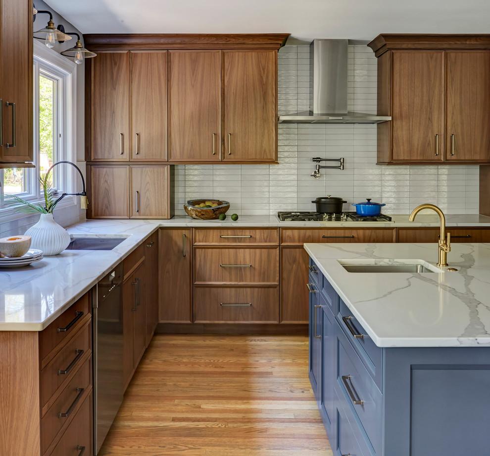 A Naturally Modern Kitchen Remodel Modern Kitchen Chicago By Bobbi Ald In 2020 Minimalist Kitchen Cabinets Modern Kitchen Remodel Natural Wood Kitchen Cabinets