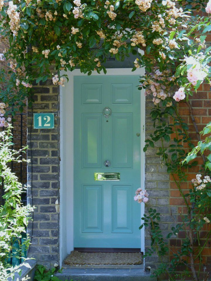 The London Door Company \'Calm Green\' paint colour - Gloss | Bright ...