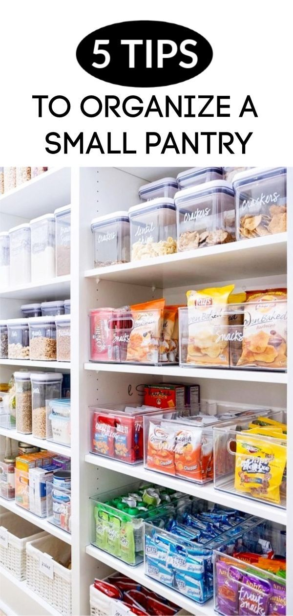 5 tips to organize a small pantry home decor pantry laundry rh co pinterest com