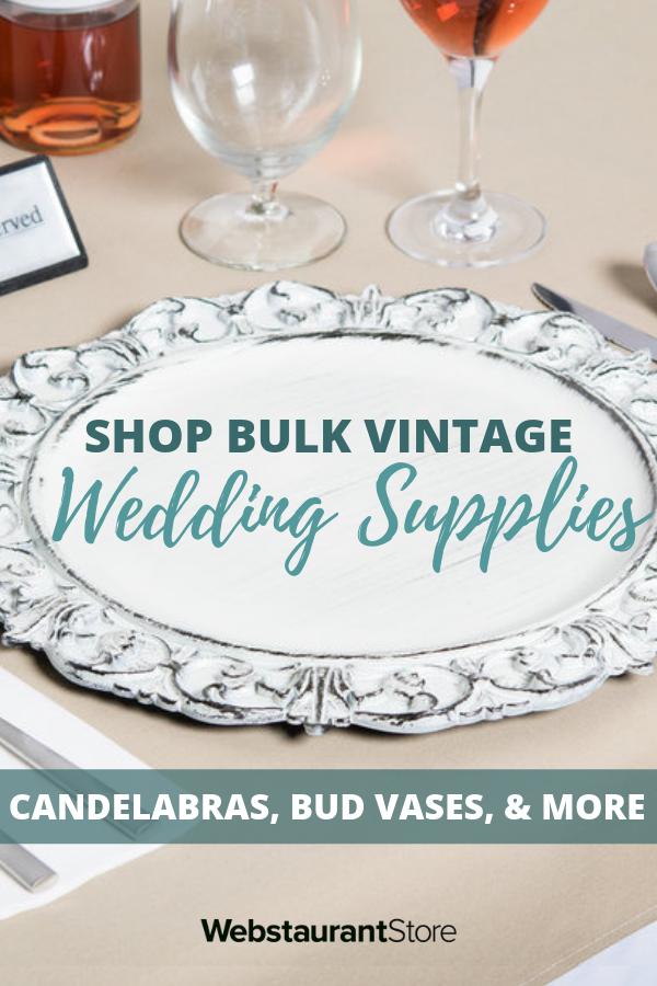 Shop Vintage Wedding Supplies In Bulk Wedding Supplies Wholesale Wedding Supplies Wedding Reception Decorations