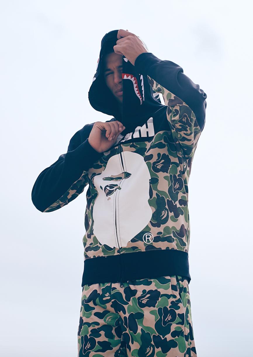 84a8df3ce451 BAPE X Puma Shark Zip Hoody Camouflage Hooded Sweatshirt A Bathing Ape  Men s Camo Hoodie │ Represented by Young Thug and Fabolous – Shop