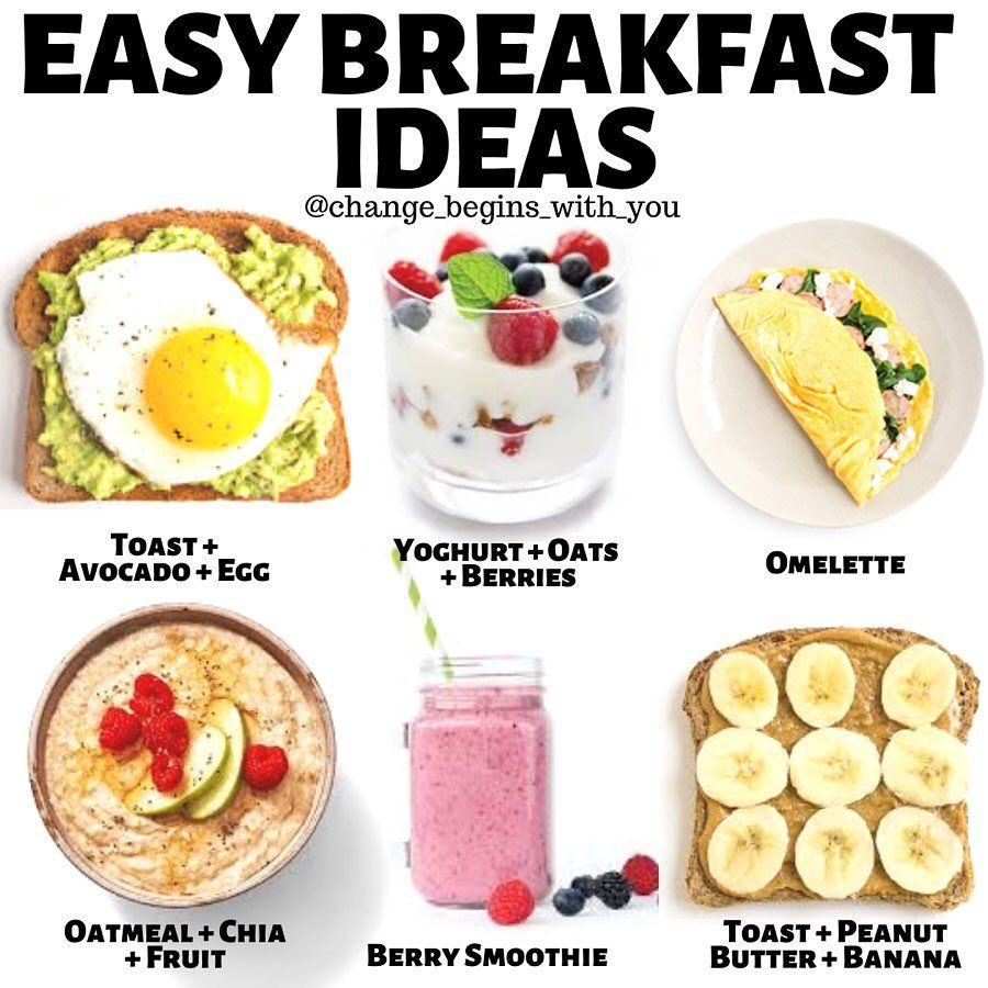Elaine Kalache On Instagram Hey Guys Here Are Some Simple Breakfast Ideas For Me Personally When I S Easy Healthy Meal Prep Easy Breakfast Meal Prep Snacks