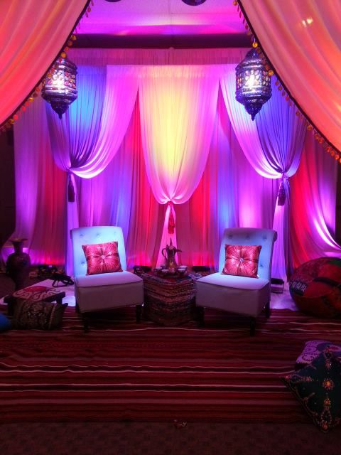 Stunning Middle Eastern Party Decor! | Arabian nights ...