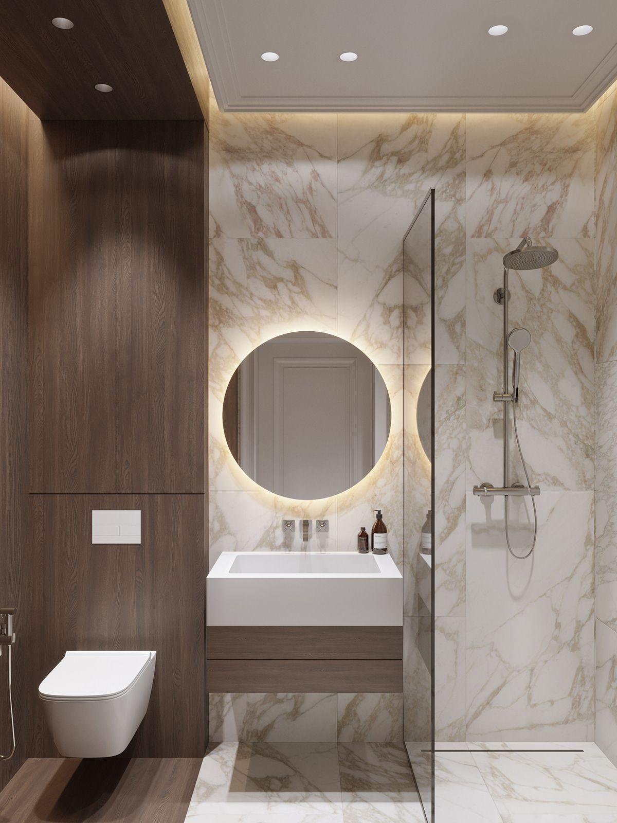 Rublevka Project On Behance Minimalist Bathroom Design Bathroom Design Decor Popular Bathroom Designs Minimalist luxury small bathroom