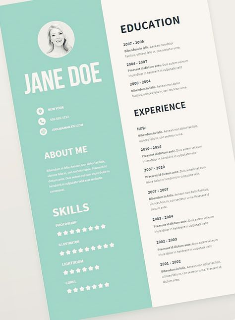 Free Creative Resume Templates Free Resume Template Pack More  2017  Pinterest  Free Resume