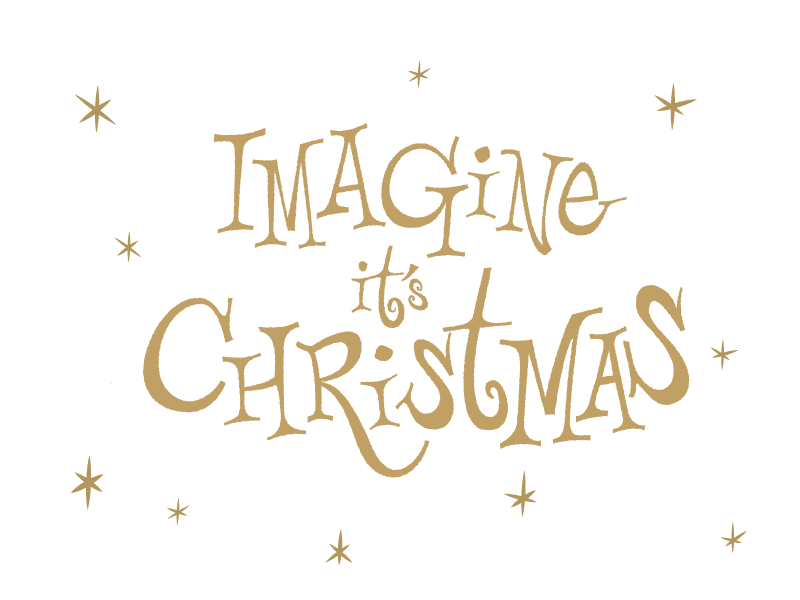 Imagine It S Christmas Lettering Types Of Lettering Typography Letters