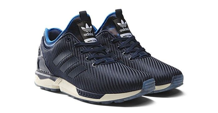 519d897cb adidas Originals teams up with Italia Independent for a high-fashion take  on the ZX Flux. These men s shoes feature a ballistic mesh upper with a  neoprene ...